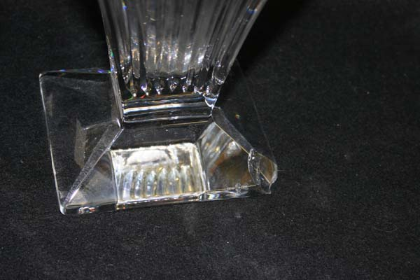 Waterford Crystal Vase chipped foot